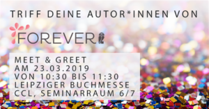 Meet und Great Leipziger Buchmesse Jullia Rogasch
