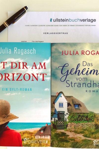 Verlagsvertrag Forever Ullstein Julia Rogasch neues Buch